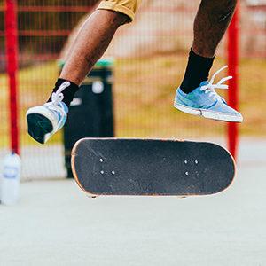 joueur de skate