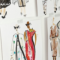 dessin de mode